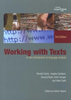 Working With Texts - A Core Introduction to Language Analysis (Paperback, 3rd Revised edition)